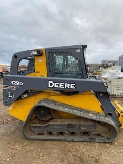 *SOLD*  2010 Deere 329D Tracked Skid Steer