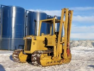 1990 CAT D4C LGP Pipelayer