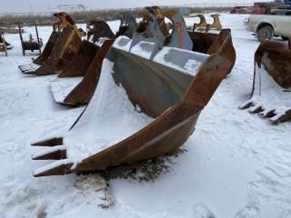 "26"" x 80"" Ditch V Bucket, SEC fits WBM 250 Series"