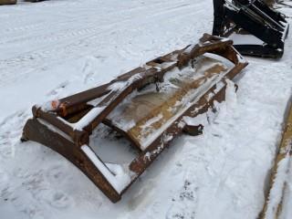 "154"" Crawler Brush Tractor Rake, CAT fits 07 Komatsu 85"