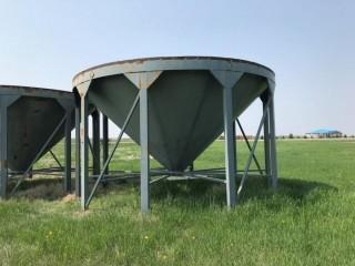 Cone-bottom Grain Bin Hopper