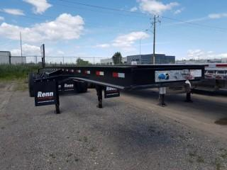 New and Unused RENN 50' ALBERTA QUAD LOGGER SSL-1701 Flatdeck Trailer