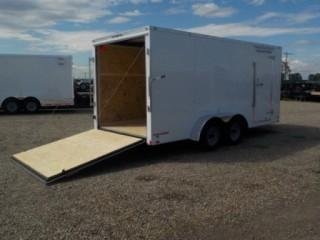 New 2020 - 7 ft X 16 ft Tandem Axle Cargo Mate Challenger by Forest River Inc