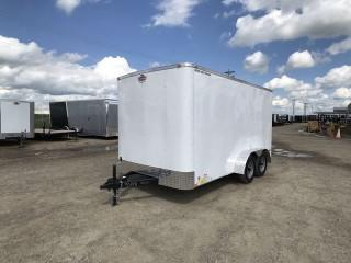 8.5' x 12' HYBRID ENCLOSED SLED TRAILER BY SNO PRO TRAILERS