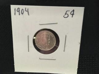 1904 Five Cent.