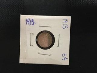 1913 Five Cent.