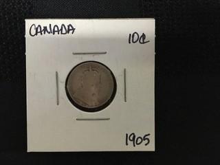 1905 Ten Cent.