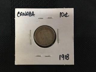1918 Ten Cent.