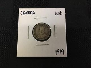 1919 Ten Cent.