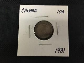 1931 Ten Cent.