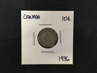 1936 Ten Cent.