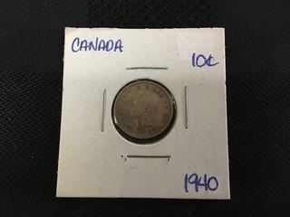 1940 Ten Cent.