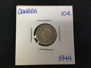 1944 Ten Cent.