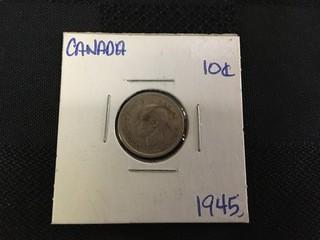 1945 Ten Cent.