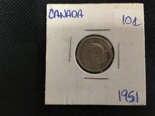 1951 Ten Cent.