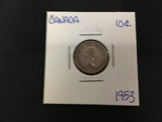 1953 Ten Cent.
