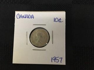 1957 Ten Cent.