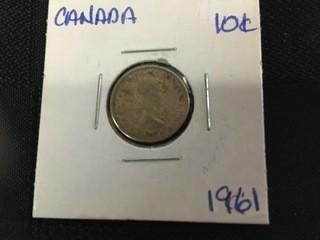 1961 Ten Cent.