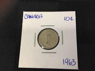 1963 Ten Cent.