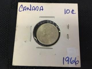 1966 Ten Cent.