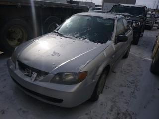2003 Mazda Protege, C/w 4 Doors,  VIN JM1BJ222031650428, Showing 199,513 KM