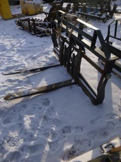 Forks and Attachment  for Loader