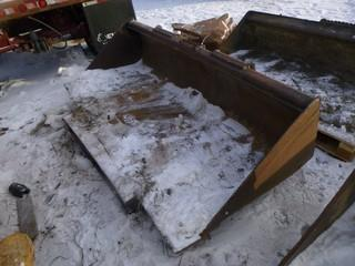 """84"""" Bucket With Edge for Skid steer"""