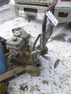 Kohler Simoniz Gas Pressure Washer, Model 2H265, 6.5 HP, S/N 442514348