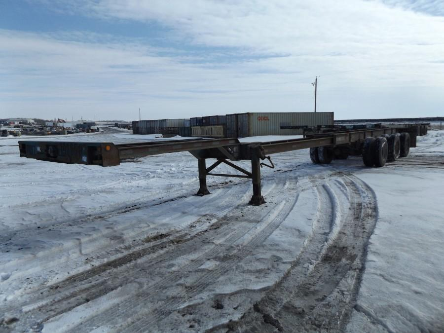 1994 Arnes Triaxle Container Chassis S/N 2A9085433RA003121.