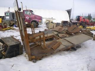 Rear Deck C/w To Fit T/A Winch Truck Tractor, 5th Wheel Plate, Live Roll And Headache Rack