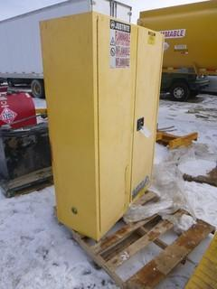 """Justrite Flammable Container Storage Cabinet, 43"""" x 18"""" x 65"""""""