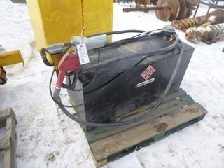 """Diesel Fuel Tidy Tank, 3/4"""" Fuel Hose, Model 1505, 45"""" x 16"""" x 21"""""""