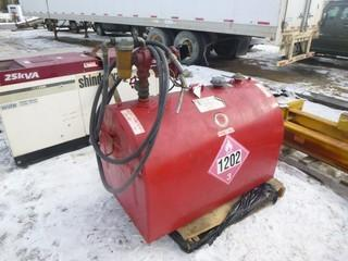 520L Diesel Fuel Tidy Tank, S/N 74298