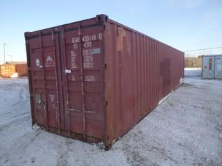 40ft Storage Container C/w Qty Of Enertek 1200 Mineral Wool Pipe Insulation *Note: Buyer Responsible For Load Out*