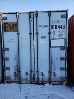 48ft Storage Container C/w Qty Of Assorted Size Foam Glass Insulation *Note: Buyer Responsible For Load Out*