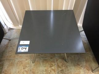 Concrete Reception Table
