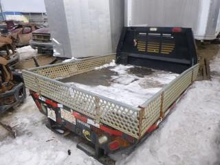 "Rugby 3 Folding Side Truck Box w/ 2 5/16"" Ball Hitch, 104"" x 82"", SN 310303"