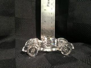 Swarovski Crystal Old Fashioned Car.