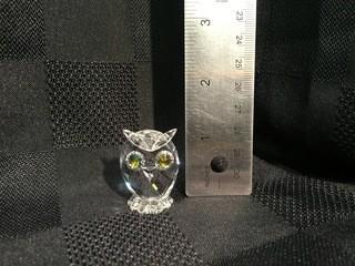 Swarovski Crystal Owl.