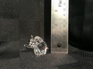 Swarovski Crystal Elephant.