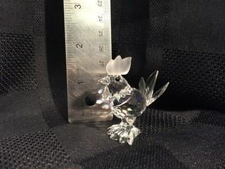 Swarovski Crystal Rooster.