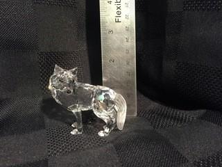 Swarovski Crystal Wolf.