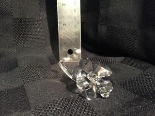Swarovski Crystal Flower.