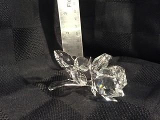 Swarovski Crystal Rose.