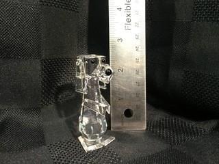 Swarovski Crystal Dog.