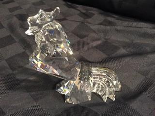 Swarovski Crystal Large Rooster.