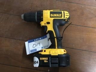 DeWalt Drill 18V w/ Battery.