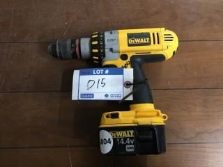 DeWalt 14.4V Drill & Battery.