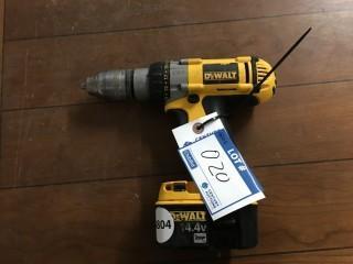 DeWalt Cordless Drill 14.4V.