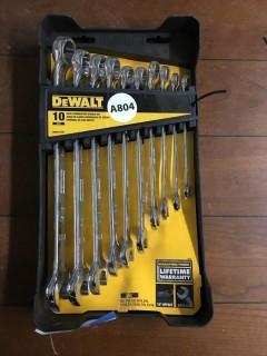DeWalt Standard Wrenches 10 Pc.